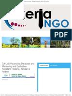 DAI Job Vacancies_ Database and Monitoring and Evaluation Assistant - Malang, Kendari & Ambon - Kerja Ngo