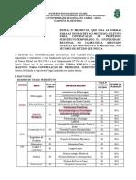 Edital Prof Urca