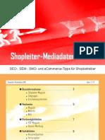 Shopleiter Mediadaten 2010 :