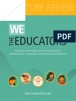 We The Educators - Literature Review (ENGLISH)
