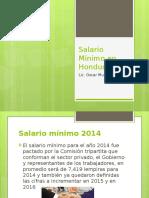 Salario Minimo en Honduras 2014
