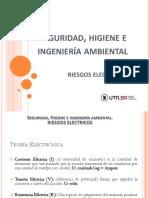 Seguridad, Higiene e Ing. Ambiental - Riesgos Eléctrico - Rev. 25052016