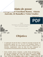 Graciliano Ramos, Aluísio Azevedo, Zé Ramalho e Victor Giudice