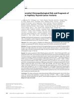 Follicular Variant Papillary Thyroid Cancer
