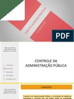 Dir. Admin- Controle Da Administração Pública