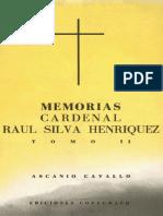 Memorias Cardenal Raul Silva Henriquez