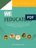 We The Educators - Revue de littérature (Français)