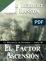 El Factor Ascension - Frank Herbert