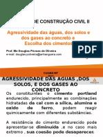 (20170226222648)Agressividade Das Águas, Dos Solos e Dos Gases Ao Concreto Escolha Dos Cimentos