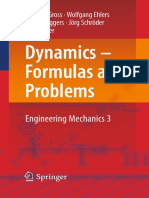 Dietmar gross wolfgang ehlers peter wriggers auth dynamics dynamics formulas and problems engineering mechanics 3 springer verlag berlin heidelberg 2017 acceleration kinematics fandeluxe Image collections