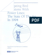 Mitigating Bird Collisions With Power Lines the State of the Art 1994