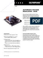 Automatic Voltage Regulator-r438