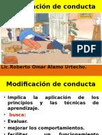 1.Modificación de Conducta