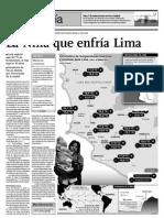 La Niña que enfría Lima