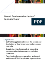 Network_Fundamentals Lecture 3 Application Layer