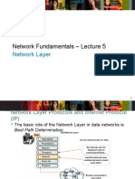 Network_Fundamentals Lecture 5 Network Layer