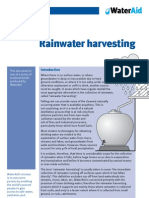 Rainwater harvesting Fact Sheet - Water Aid