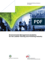 Environmental Management Guideline for the Leather Tanning & Finishing Industry