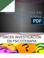 INVESTIGACIÓN EN PSICOTERAPIA (1)
