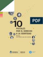 CUADERNILLO postales Identidad
