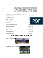 Alcaldes Municipales de Nueva Concepcion