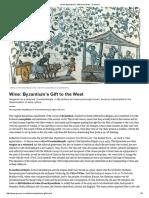 Ilias Anagnostakis_Wine Byzantium's Gift to the West