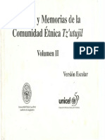Historia de Los Tz'Utujiles