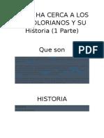 Todo HA Cerca DE LOS  MandAlorianos y Su Historia