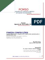 Fineza Pcmso Fabrica 2015