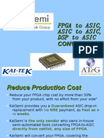 KaiSemi - FPGA to ASIC, ASIC to ASIC, DSP to ASIC CONVERSIONs