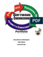 Portfolio SOFTWARE ENGINEERING