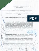 Convenio gremios y empresarios petroleros en Chubut