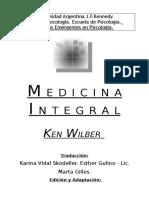 Ken Wilber Medicina Integral
