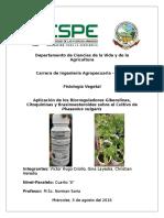 Bioreguladores Vegetales