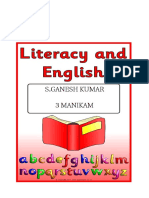 Literacy and English 6
