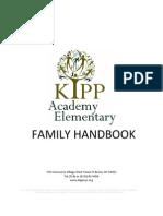 KIPP AES 2010-2011 Family Handbook
