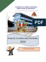 Plan de Tutoria