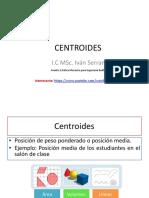 Sesión 8 Centroides
