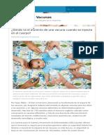 ¿Dónde Va El Aluminio de Una Vacuna Cuando Se Inyecta en El Cuerpo_ _ Argentina Sin Vacunas