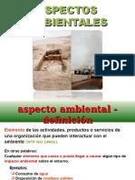 ASPECTOS AMBIENTALES - ISO 14000