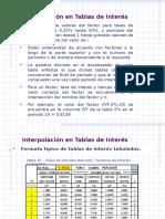 FACTORES Y SU EMPLEO Interpolacion i y n Desconocida Ppt