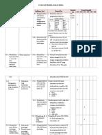 Evaluasi Pembelajaran Kimia Kisi-kisi Dan Soal