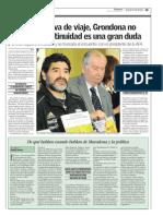 De que hablan cuando hablan de Maradona y política