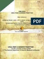Ebb 20203 (Rev 00)- Usul Fiqh & Qawaid Fiqhiyyah