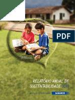 2013 Relatorio Anual de Sustentabilidade