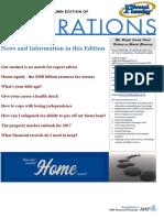 Pivotal Planning Aspirations Newsletter