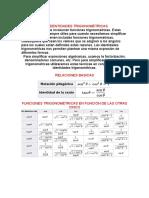 Ecuaciones 3x3 Gauss-jordan y Cofactores. Identidades Trigonometricas