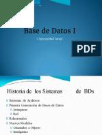 Bases de Datos Semana 1