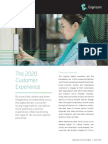 The 2020 Customer Experience