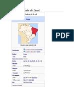 Región Nordeste de Brasil ESPAÑOL